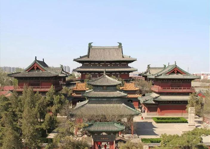 Храм Чжэндин Лунсин